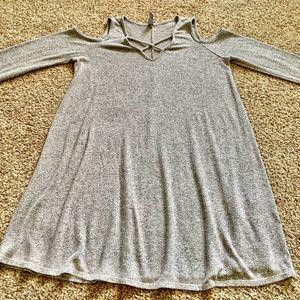 ing cold shoulder dress